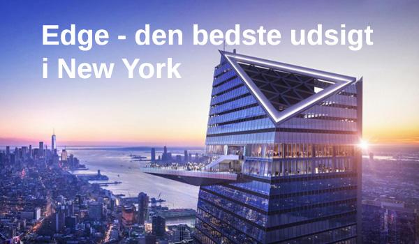 Edge New York - den bedste udsigt over New York