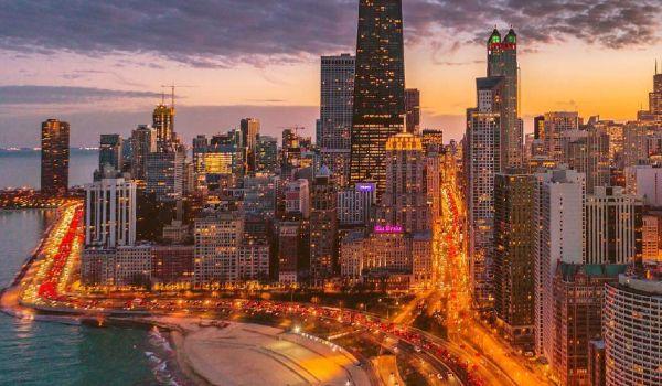 Chicago Skyline billede