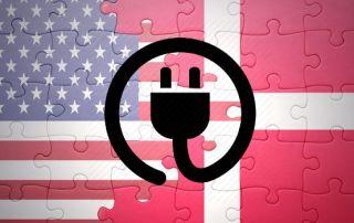 Danmark USA Rejseadapter