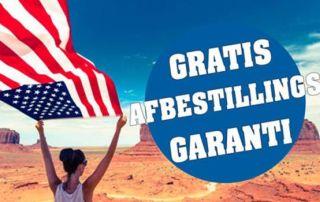 USA Rejser med gratis afbestillingsgaranti