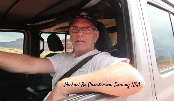 Michael Bo Christensen, Driving USA
