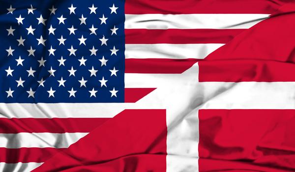 Rejse til Danmark fra USA