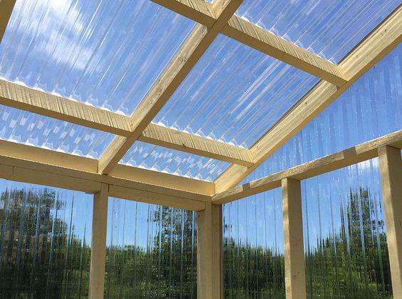 veranda en polycarbonate ideal pour le