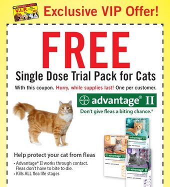 Free Printable Coupon For Advantage For Cats