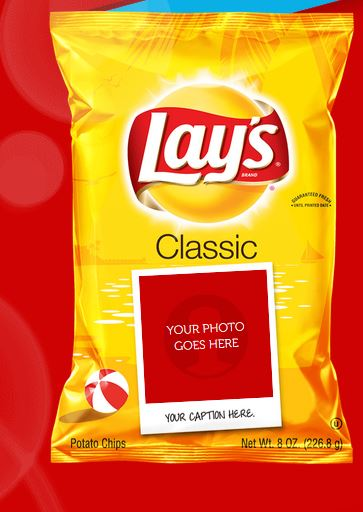 free personalized bag of lay u2019s chips  u2022 guide2free samples
