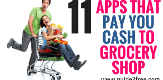 11 APPS THAT PAY YOU CASH TO GROCERY SHOP
