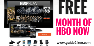 1 FREE Month of HBO Now