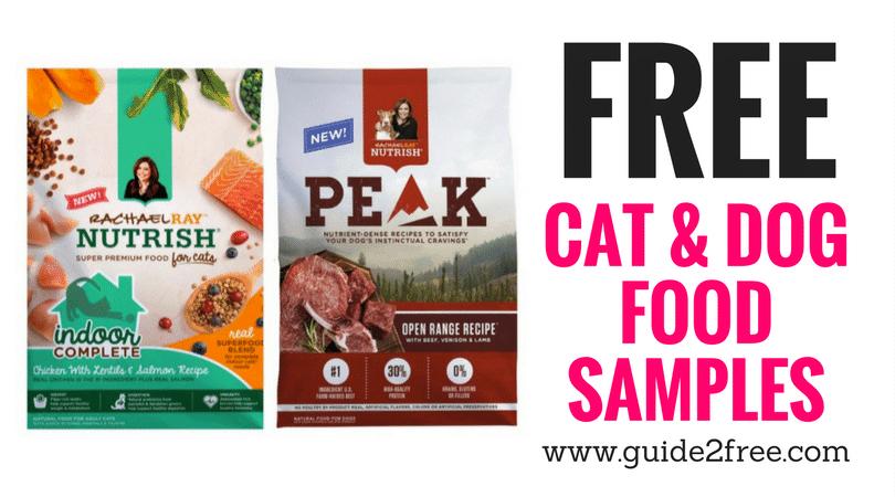 Free Rachael Ray Pet Food Samples