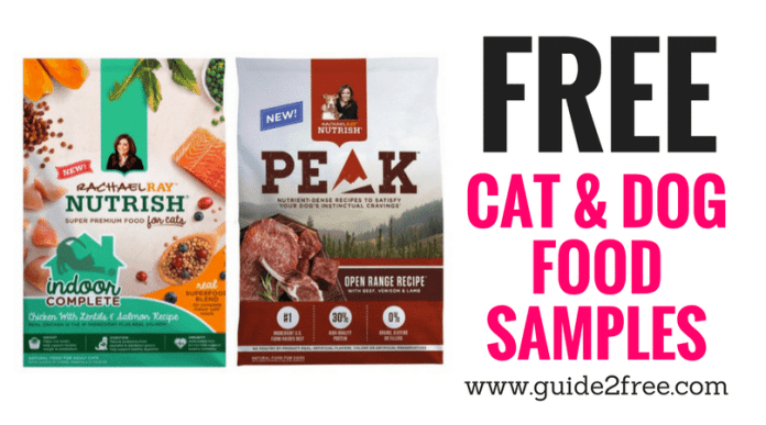 Free Cat Food Samples By Mail
