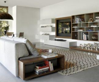 Come arredare un soggiorno rettangolare o quadrato. Come Arredare Il Soggiorno