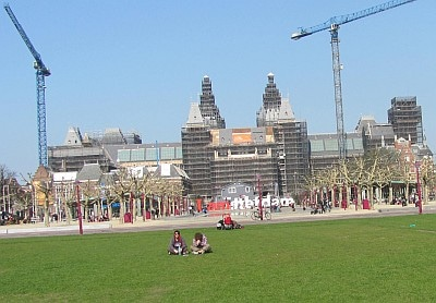 Rijksmuseum - Under Construction