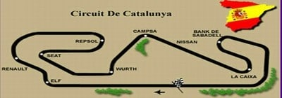 Circuit de Barcelona - Map