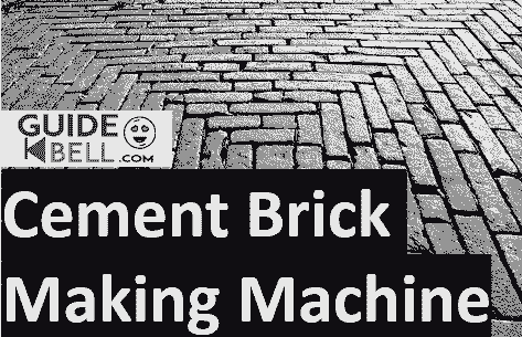 Cement Brick Making Machine - Best Way to Earn 5Lac Per Month
