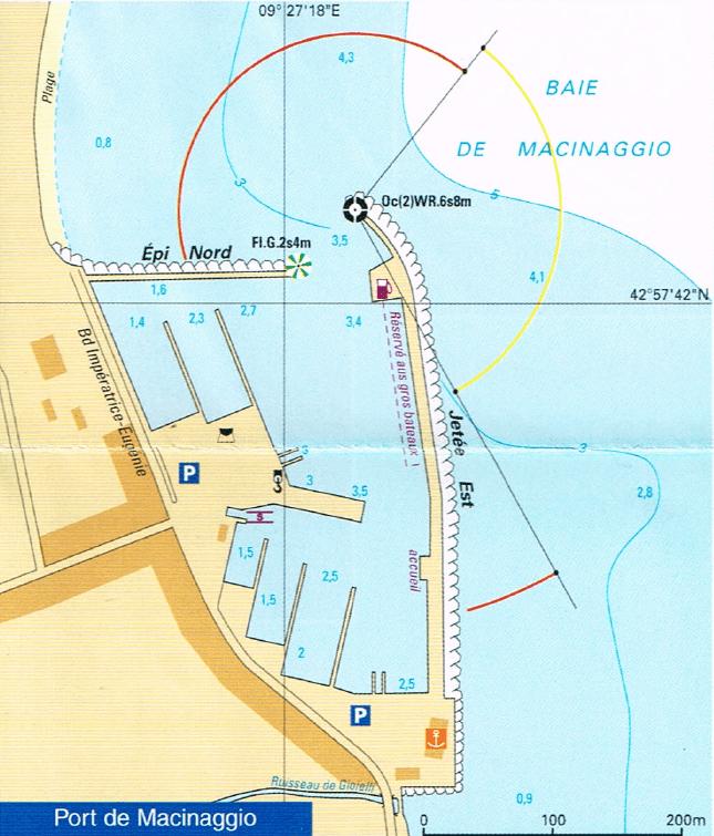 Port de Macinaghju (Macinaggio)
