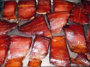 How long to smoke salmon at 200 degrees