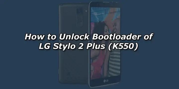 Lg K550 Unlock