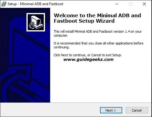 Minimal ADB and Fastboot