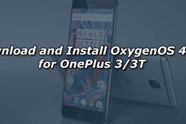 Download and Install OxygenOS 4.1.0 for OnePlus 3/3T