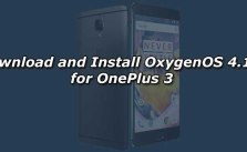 Download and Install OxygenOS 4.1.1 for OnePlus 3