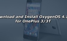 Download and Install OxygenOS 4.1.5 for OnePlus 3/3T