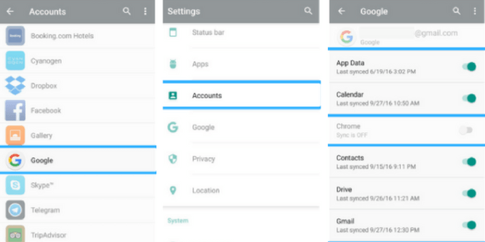Backing up android to cloud
