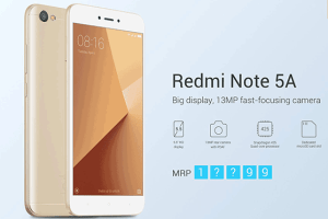 Xiaomi Redmi Note 5A Review