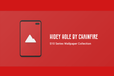 Download Hidey Hole Wallpaper App for Galaxy S10 to Hide Punch Hole Camera