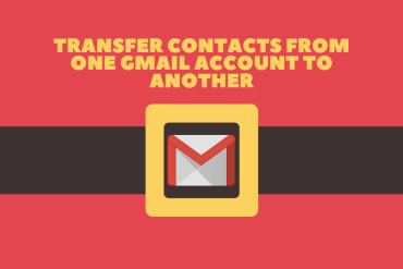 How to Transfer Contacts from One Gmail Account to Another