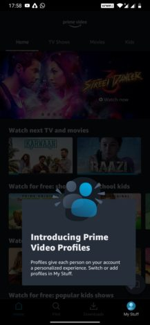 How to add Amazon Prime video profile on Android, iOS, and Fire Tablets