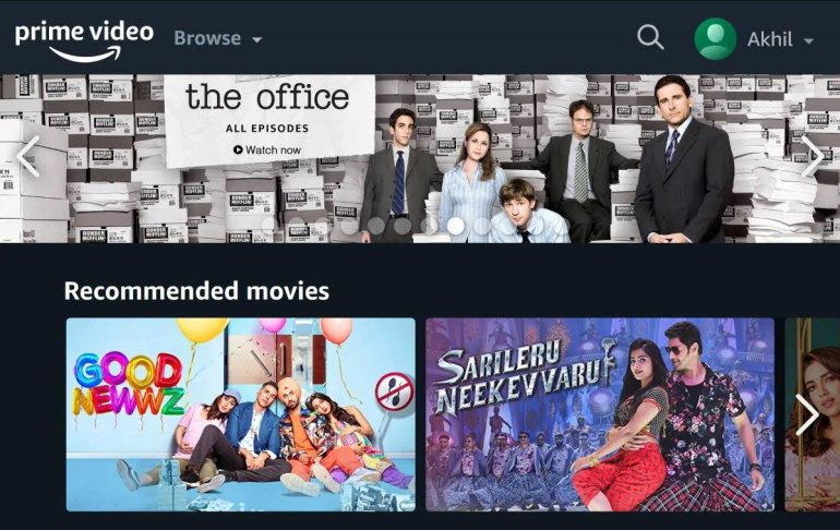 How to add profile on Prime Video app on Fire TV