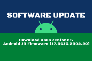 Download Asus Zenfone 5 Android 10 Firmware [17.0615.2003.20]