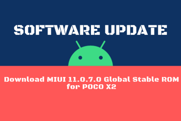 Download MIUI 11.0.7.0 Global Stable ROM for POCO X2