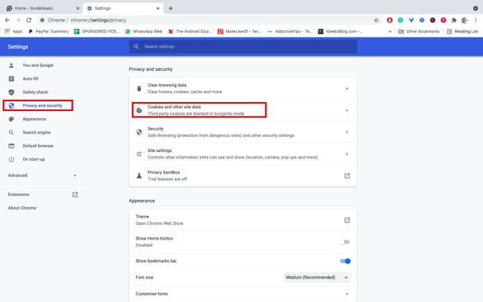 Disable FLoC in Google Chrome Desktop
