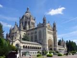 Basilique de Lisieux en Normandie