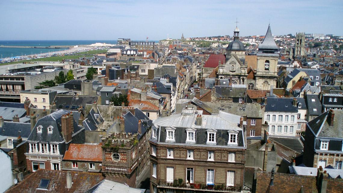 La ville de Dieppe, Panorama