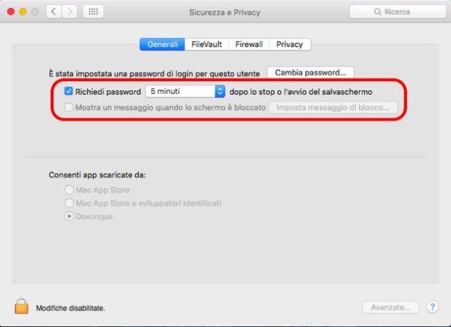 proteggere la privacy 7