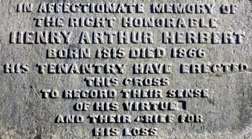 Henry A Herbert inscription P1010414