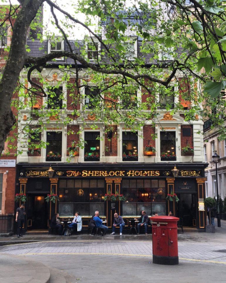 Sherlock Holmes Pub. Photo Credit: © Ursula Petula Barzey.