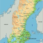 Map Of Sweden Guide Of The World