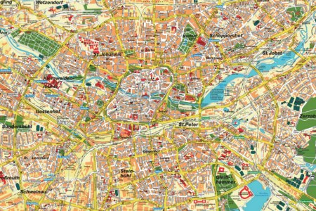 large detailed of nuremberg map » Full HD MAPS Locations - Another ...