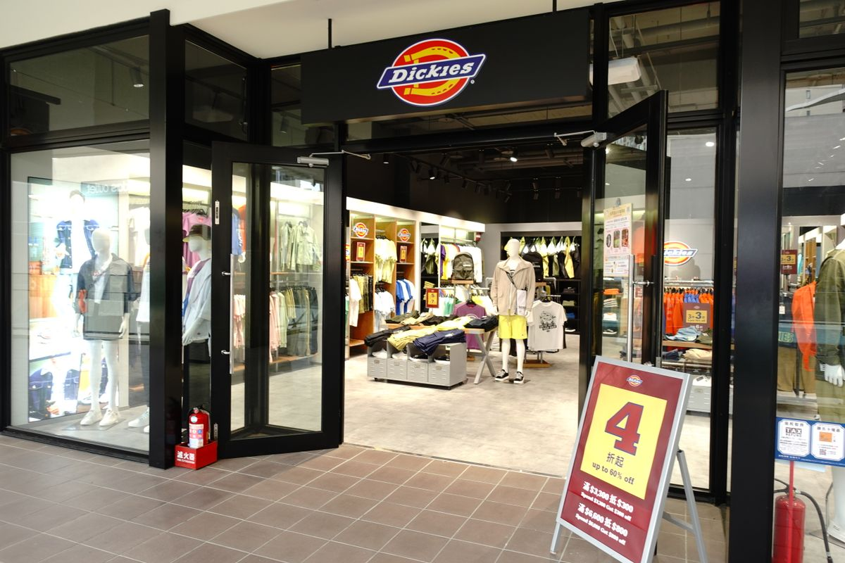 Dickies at linkou mitsui outlet