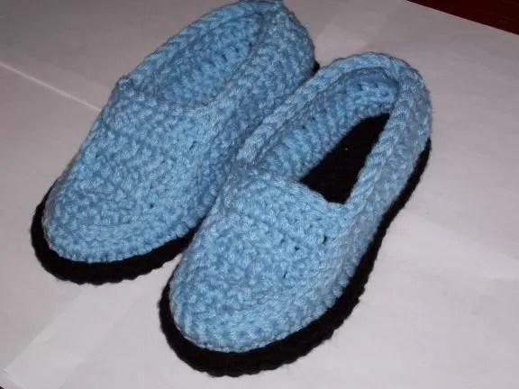 Knitted Bootie Slippers Patterns