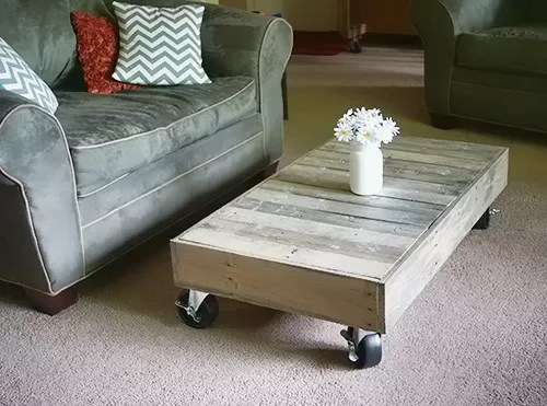 Build Coffee Table Out Pallets