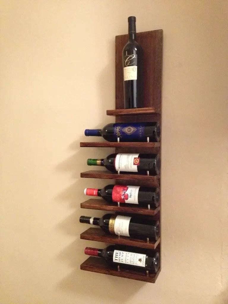 14 easy diy wine rack plans guide