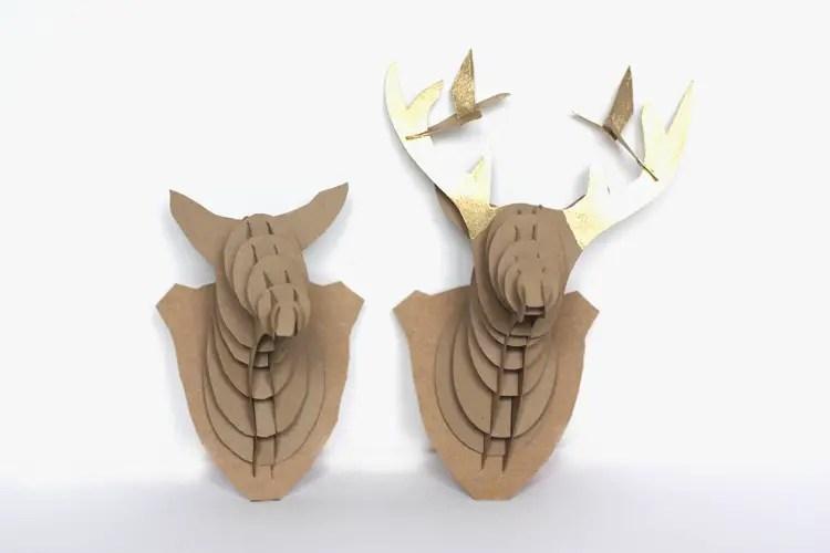 Printable Reindeer Antlers