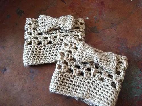 Boot Easy Cuffs Free Crochet
