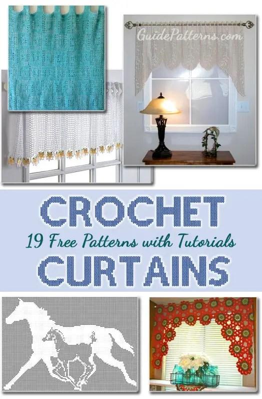 19 Free Crochet Curtain Patterns