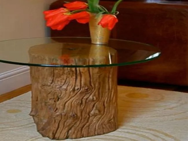 11 Tree Stump Side Table Designs Guide Patterns