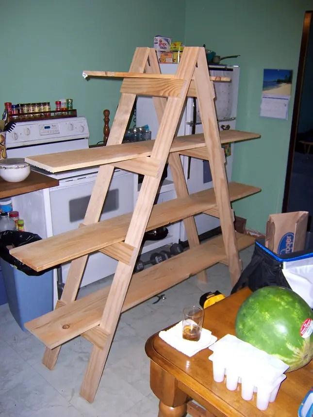 24 Ladder Bookshelf Plans Guide Patterns