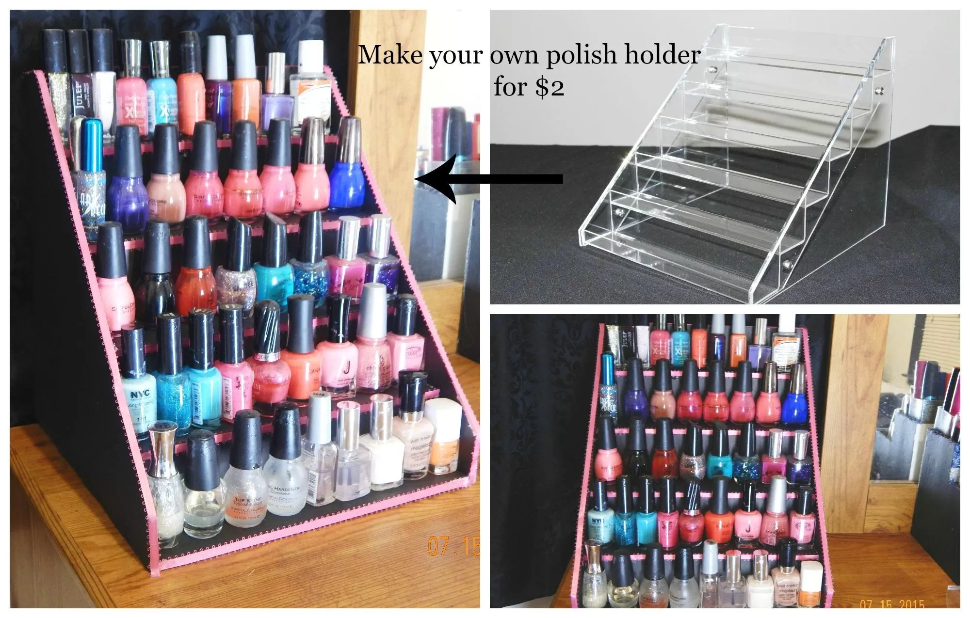 Nail Polish Table Rack